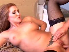 Hot redhead milf is just insatiable