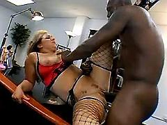 Black boss crazy fucking secretary